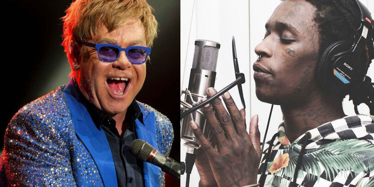 A Young Thug x Elton John Collaboration May Be In The Works