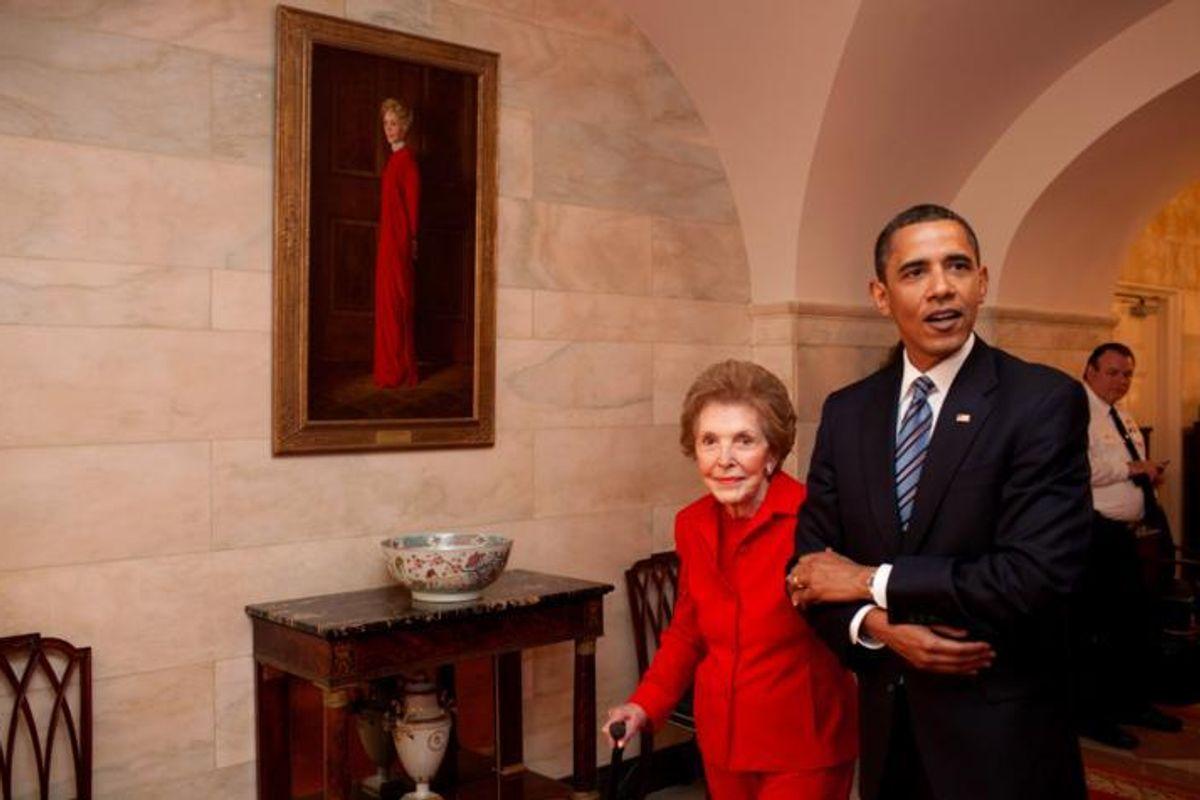 President Obama Is Missing Nancy Reagan's Funeral For SXSW