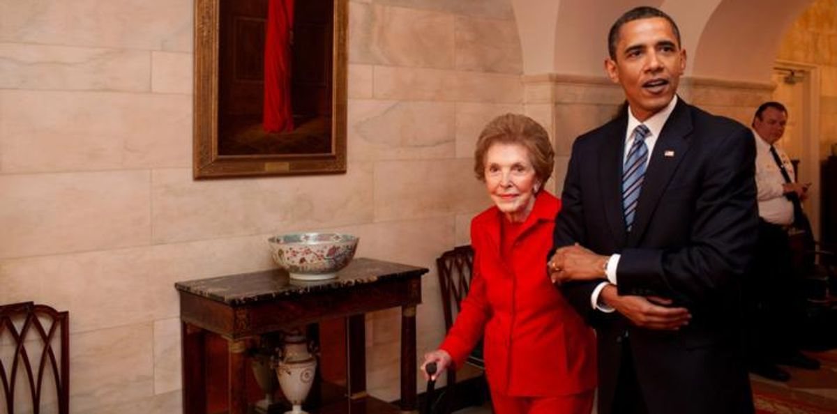 President Obama Is Missing Nancy Reagan's Funeral For SXSW