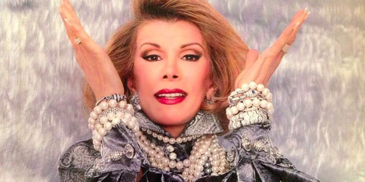The Shimmering Diamonds of Joan Rivers Are Being Auctioned At Christie's