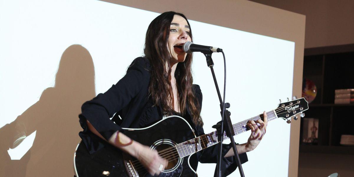 "Listen To PJ Harvey's Anti-Corporate Anthem ""The Community Of Hope"""