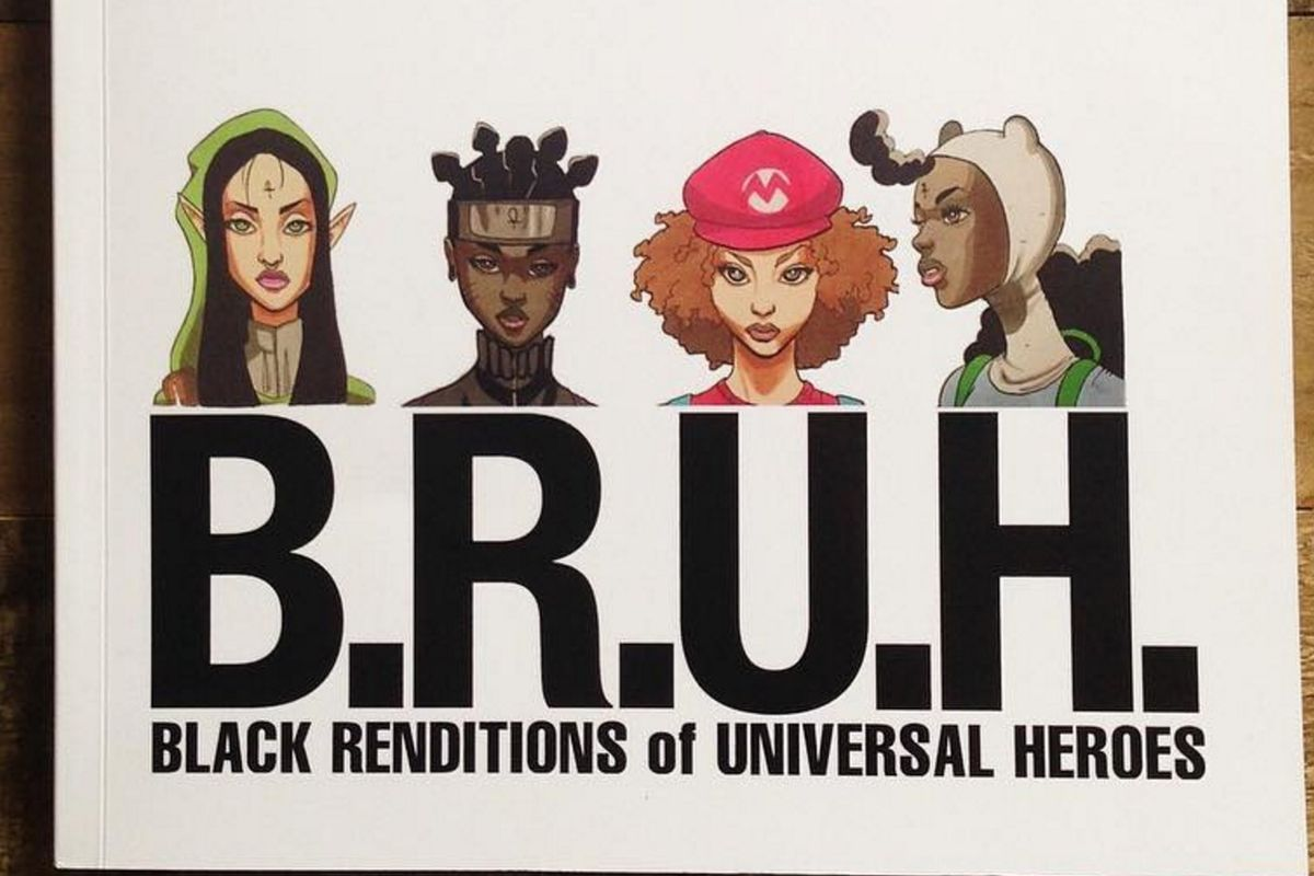 """Artist Markus Prime Reimagines Iconic Characters As Black Women In """"BRUH"""""""