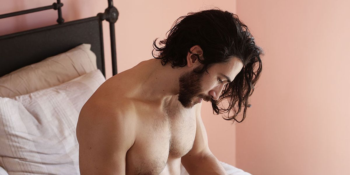 NSFW: Peep This Photo Series Of Naked Guys Reading In Bed