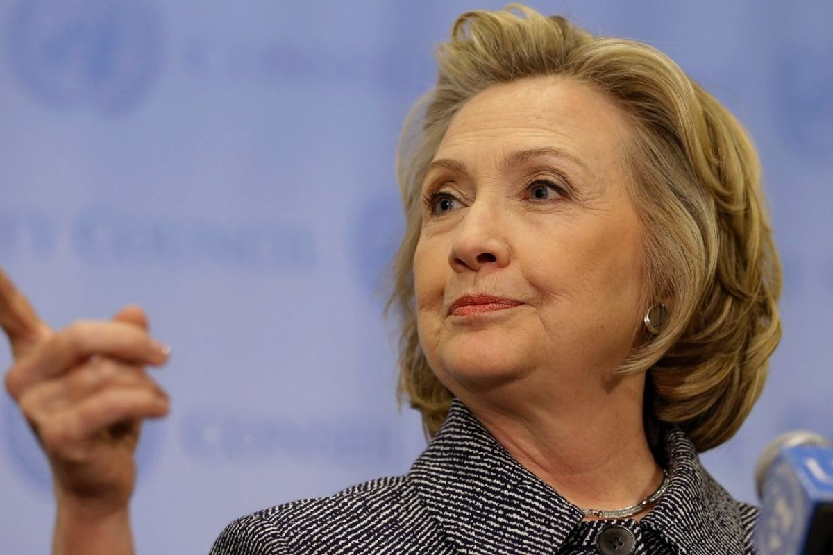 """MSNBC Host Tells Hillary Clinton to """"Smile More"""""""