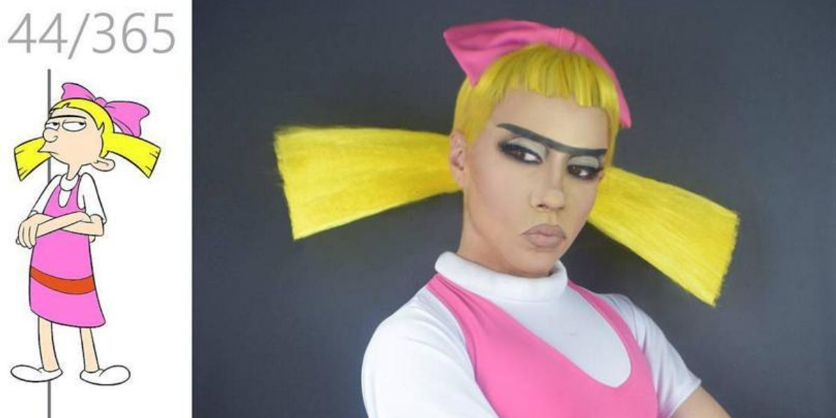 Drag Queen Recreates Iconic 90s Characters And It's Everything