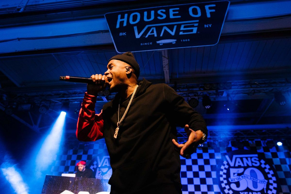 Photos From Vans's Two-City 50th Birthday Bash With Erykah Badu, Nas, and More