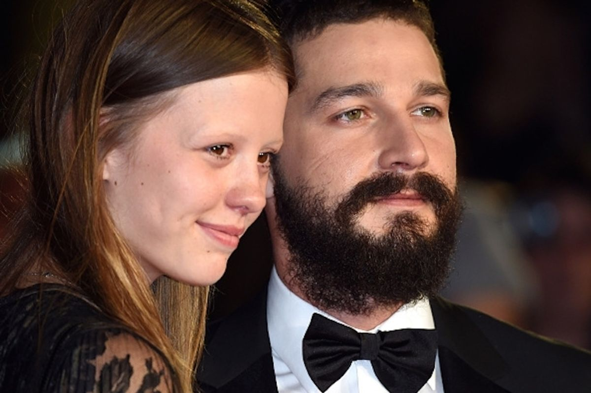 Shia LaBeouf And Mia Goth Are Engaged