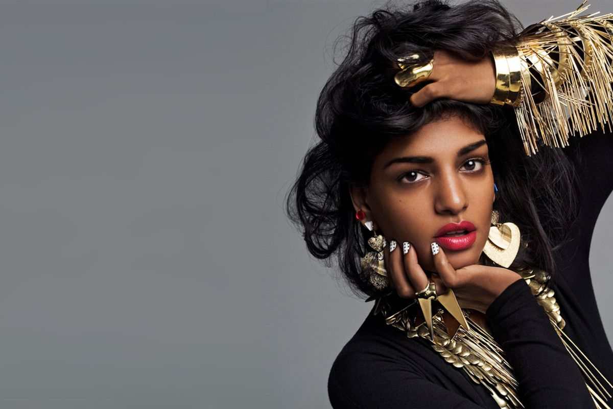 """Listen To M.I.A.'s New Border-Defying Bangers """"MIA OLA"""" And """"Foreign Friend"""""""