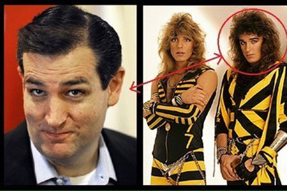 Stryper Frontman Says He Is Totally, Definitely Not Ted Cruz