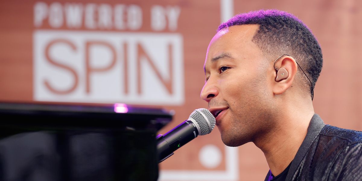 John Legend On His New Movie Role, Mentoring Young Artists and SXSW