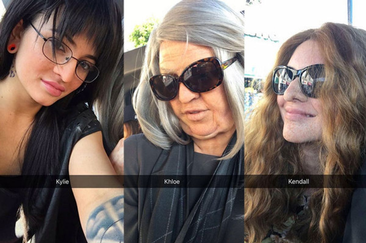 Two Jenners and a Kardashian Disguised Themselves as Civilians For a Hollywood Tour