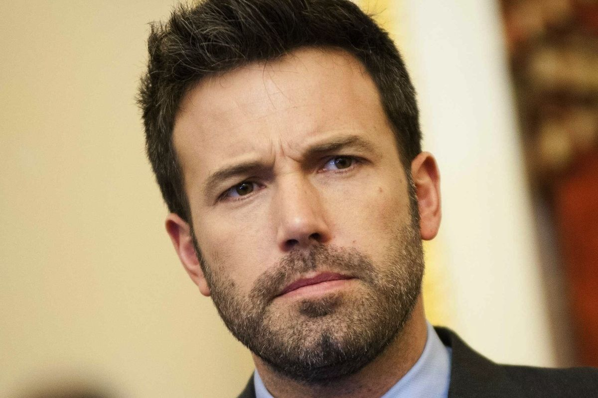 Our National Nightmare Is Over: Ben Affleck's Back Tattoo Is Fake