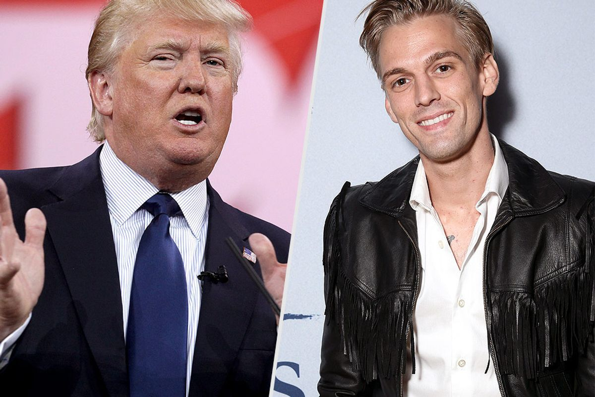 We Reap What We Sow: Aaron Carter Won't Be Voting Now