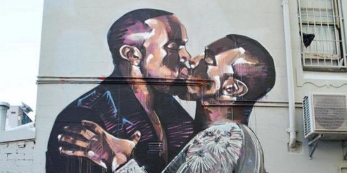 This Australian Mural Is All About Kanye's Love for Kanye