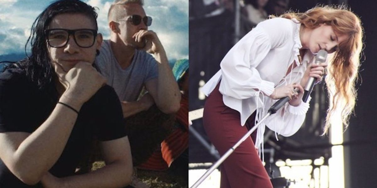 Diplo And Skrillex Tease Collaboration With Florence Welch