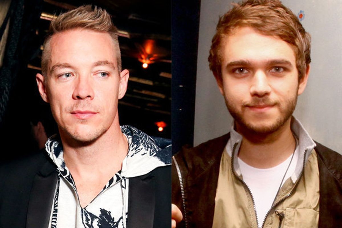 Diplo and Zedd Beef On Twitter, Dead Mow Five Joins In The Cat Fight