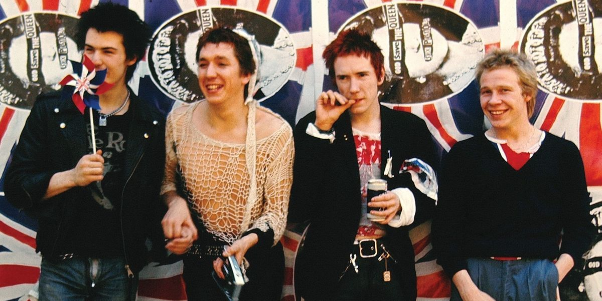 The Sex Pistols's Graffitied London House Has Just Been Given Official Landmark Status