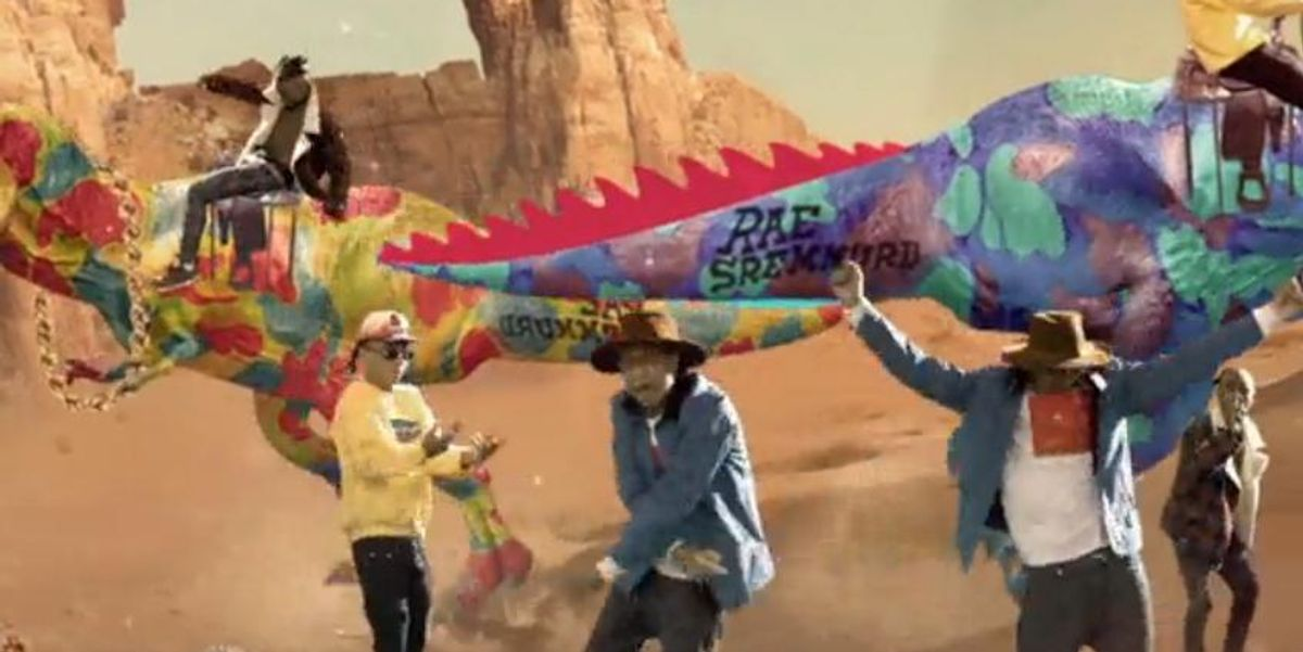 """Watch Rae Sremmurd's Galactic Video for """"Over Here"""""""