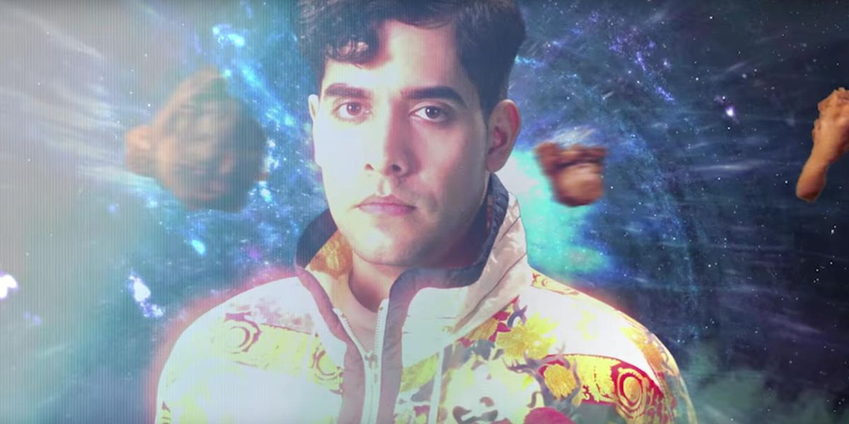 """Watch Neon Indian's """"Techno Clique"""" Party In A Dope Multi-Meat Space Rave"""