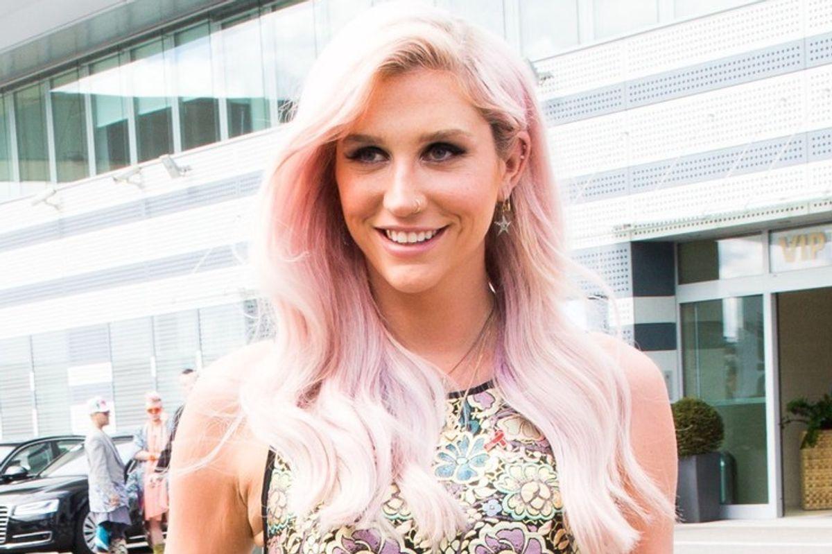 Kesha's Writing Music Again