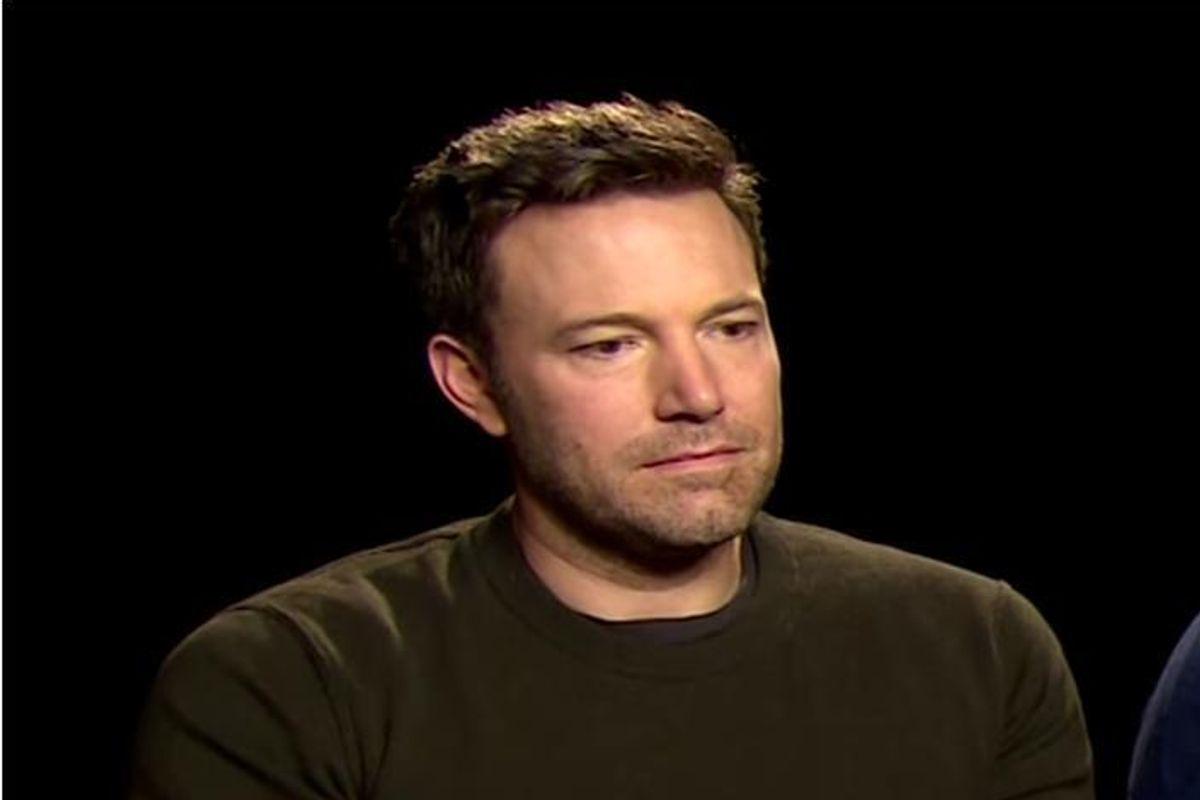 Why Is Ben Affleck So Sad?