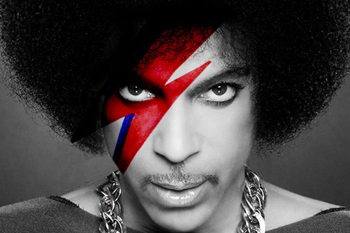 """Prince Covered David Bowies """"Heroes"""" In Toronto"""
