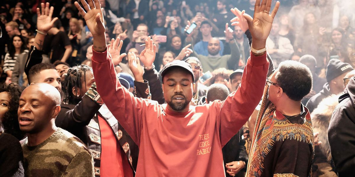 """REJOICE! Kanye West Has Released A New Track """"Ultralight Prayer"""""""