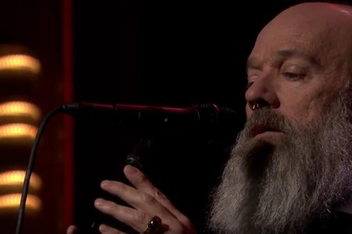 Watch Michael Stipe Perform David Bowie's 'The Man Who Sold the World' On The Tonight Show