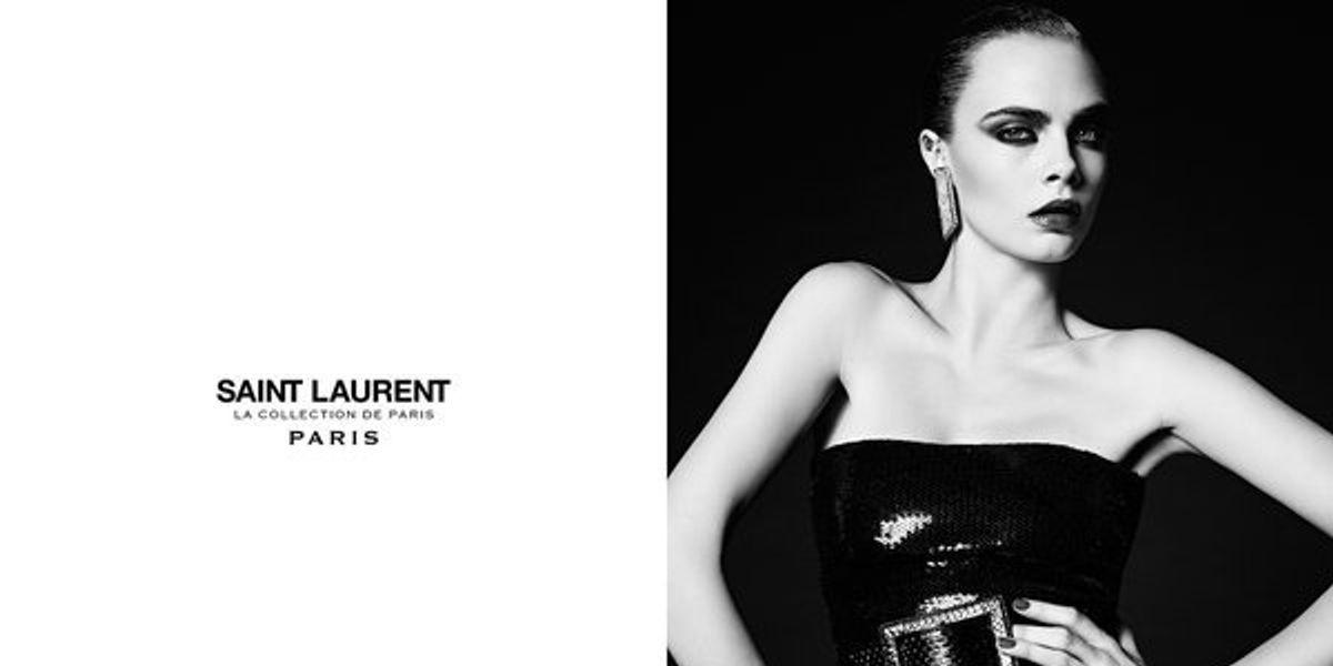 Cara Delevingne Returns To Model For Saint Laurent