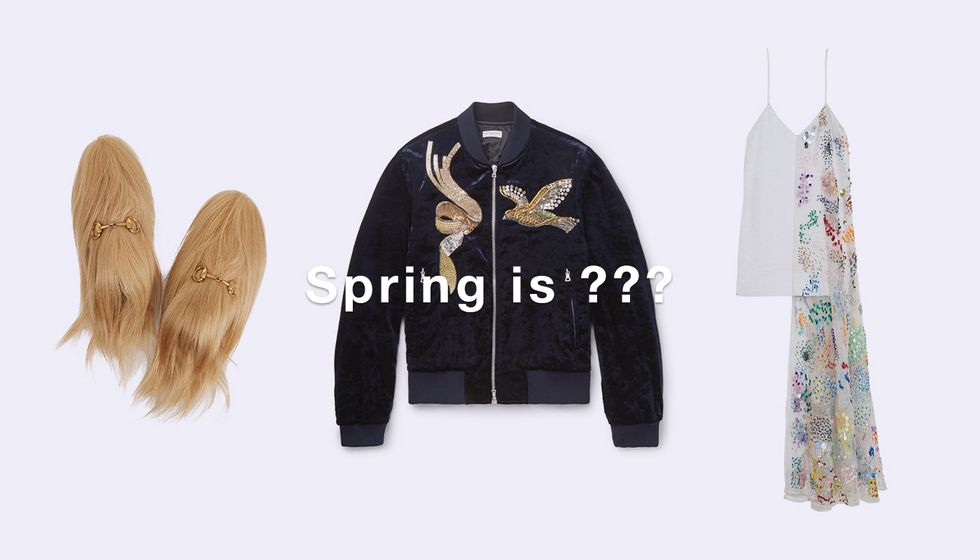 The Look For Spring is... ???