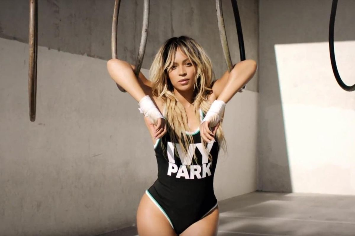 Beyoncé Teases Her New Ivy Park Athleisure Line