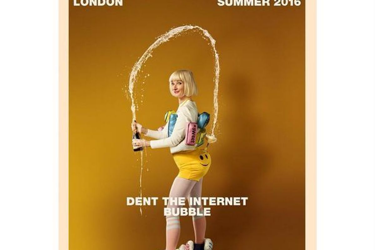 Absolutely Fabulous: The Movie Pays Homage to Our Kim K. Cover