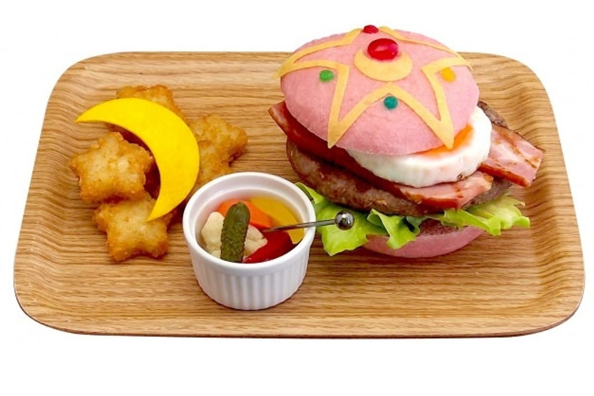 Sailor Moon Themed Cafe Will Offer Pink Burgers