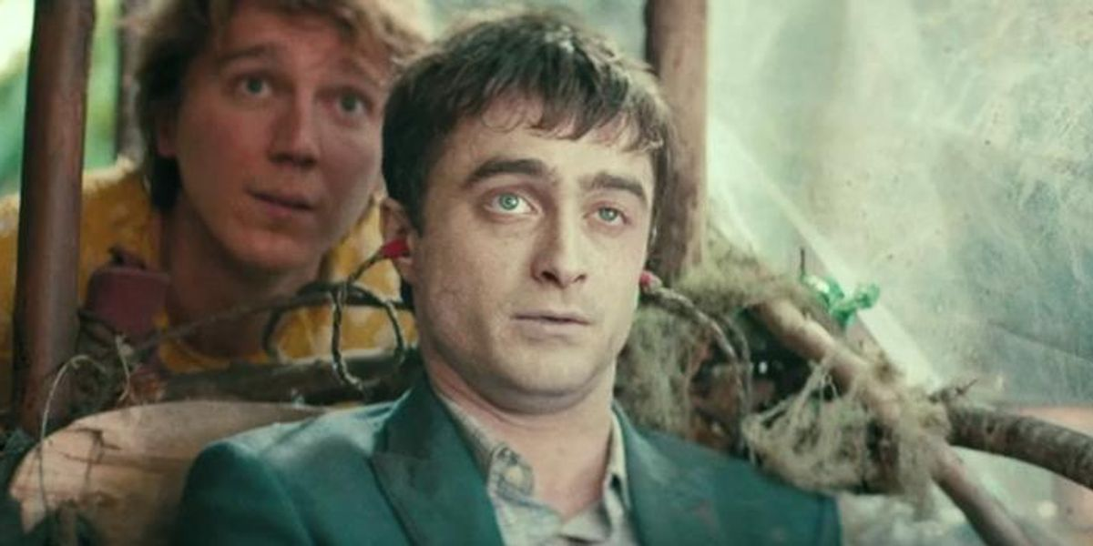 Watch the Absurd Trailer For 'Swiss Army Man,' Aka the Daniel Radcliffe Farting Corpse Movie