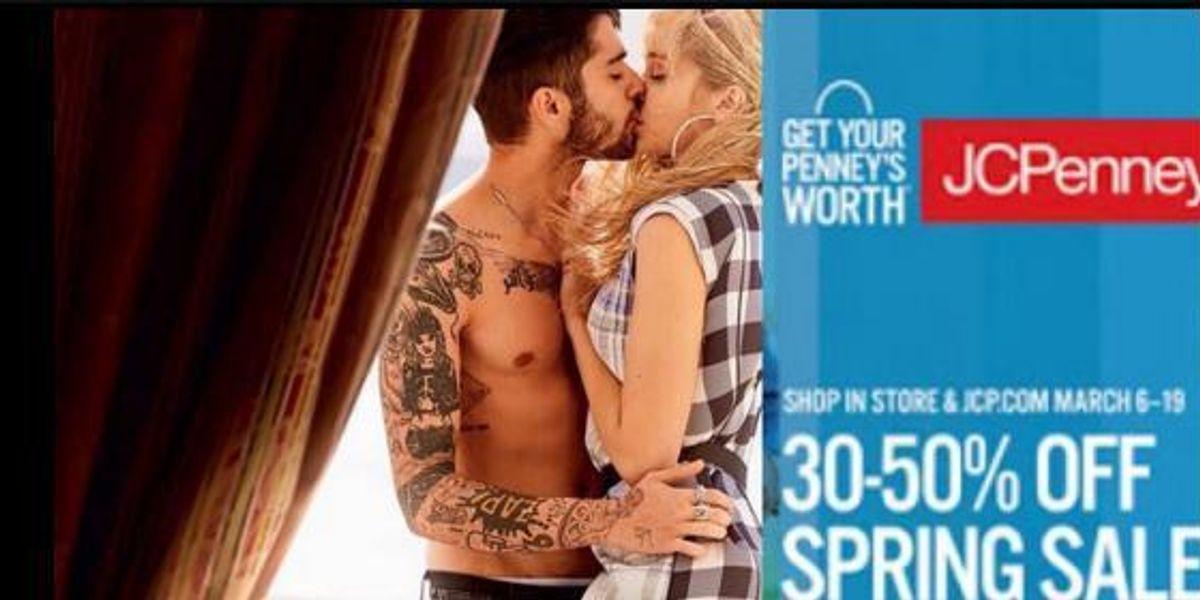 Twitter's Turning Those Gigi Hadid And Zayn Malik Vogue Photos Into Catalogue Ads