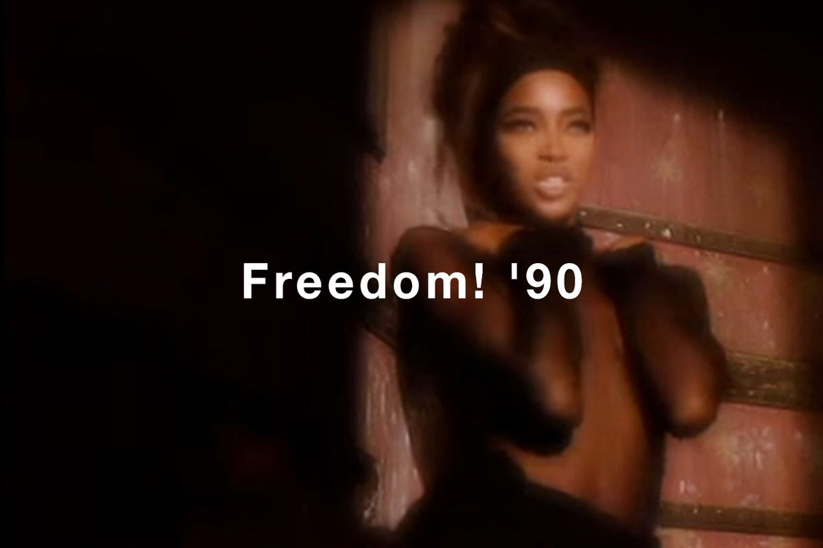 """Get the Look: George Michael's """"Freedom! '90"""" Video"""