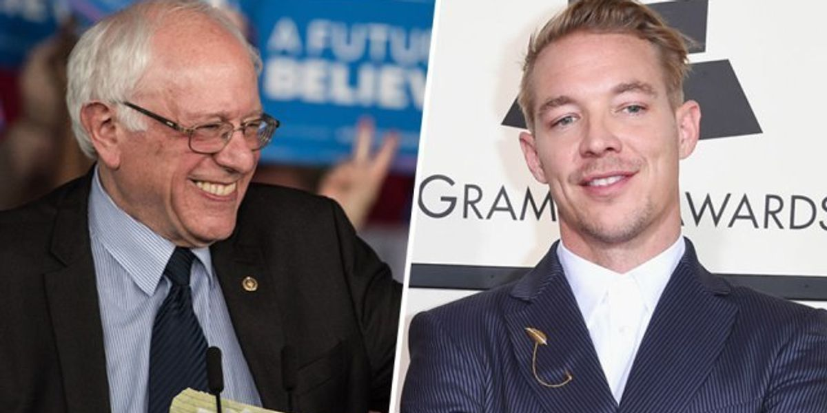 Diplo Supplies The Soundtrack For A New Bernie Sanders Ad