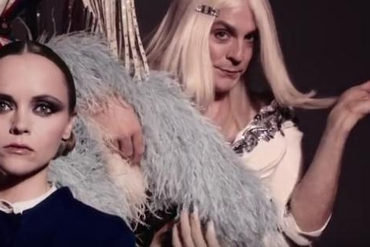 Watch Drew Droege's Brief But Glorious Chloe Sevigny Moment In New Marc Jacobs Campaign Video
