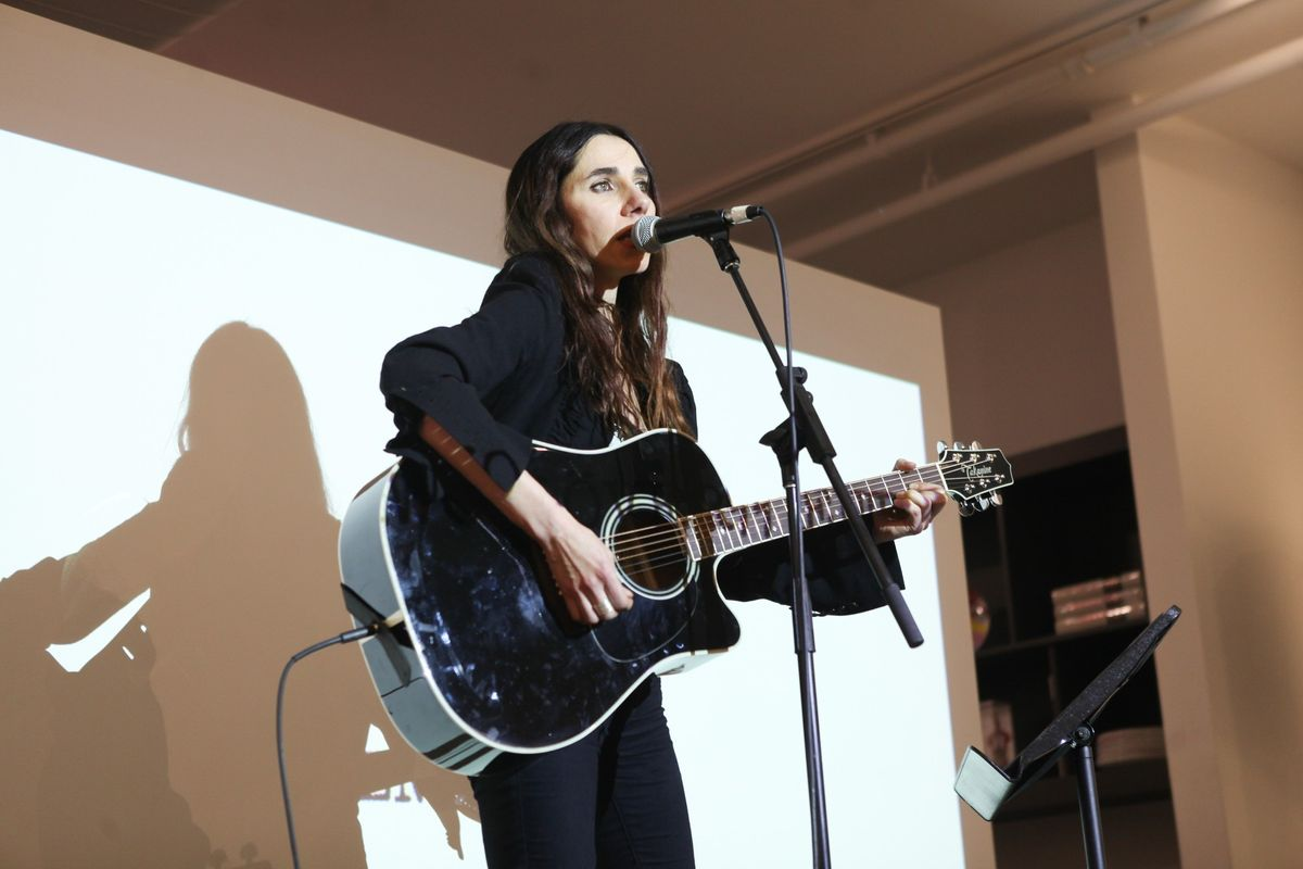 "Listen To PJ Harvey's New Rumbler ""The Orange Monkey"""