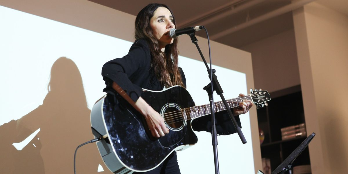 "Listen To PJ Harvey's New Rumbler ""The Orange Monkey"""