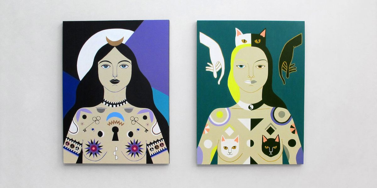 Meet the Artists Behind a Witchy New Show Inspired by the Lunar Cycle