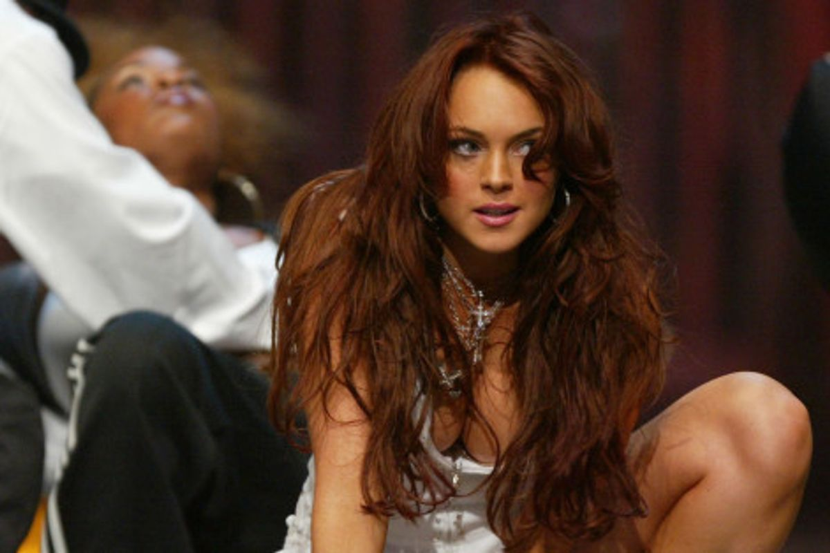 In Honor of Tonight's MTV Movie Awards...Here's Lindsay Lohan's Choreographed Routine In 2004