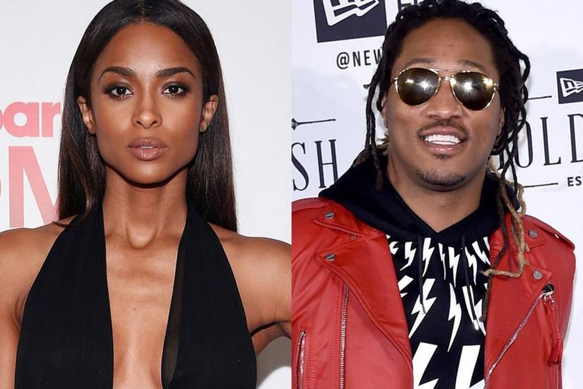 Ciara 'Forgets' To Say Future's Name While Announcing Billboard Music Award Nominees