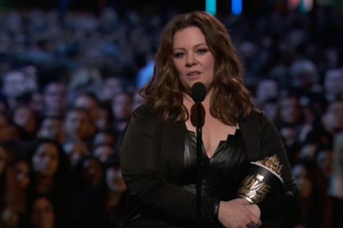 Watch Melissa McCarthy's Lady Power Speech For Receiving The Best Comedic Genius Award at The MTV Movie Awards