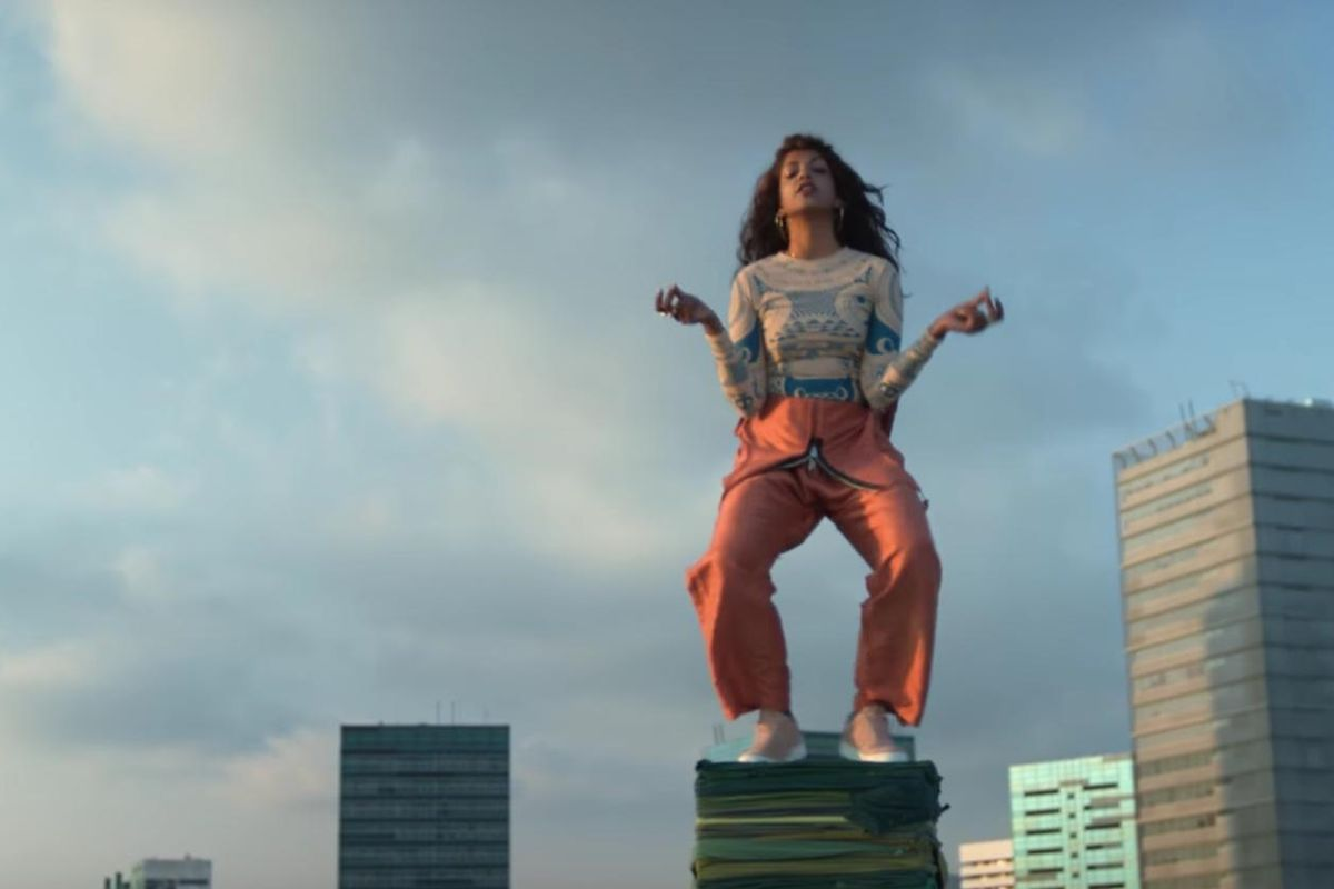"Watch M.I.A.'s Globetrotting Video For Her World Recycle Week Single ""Rewear It"""