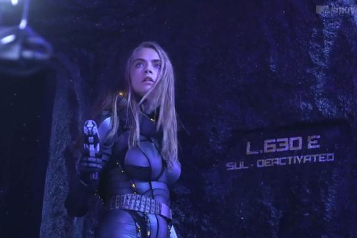 See Footage From Cara Delevingne and Rihanna's New Luc Besson-Directed Sc-Fi Epic 'Valerian'