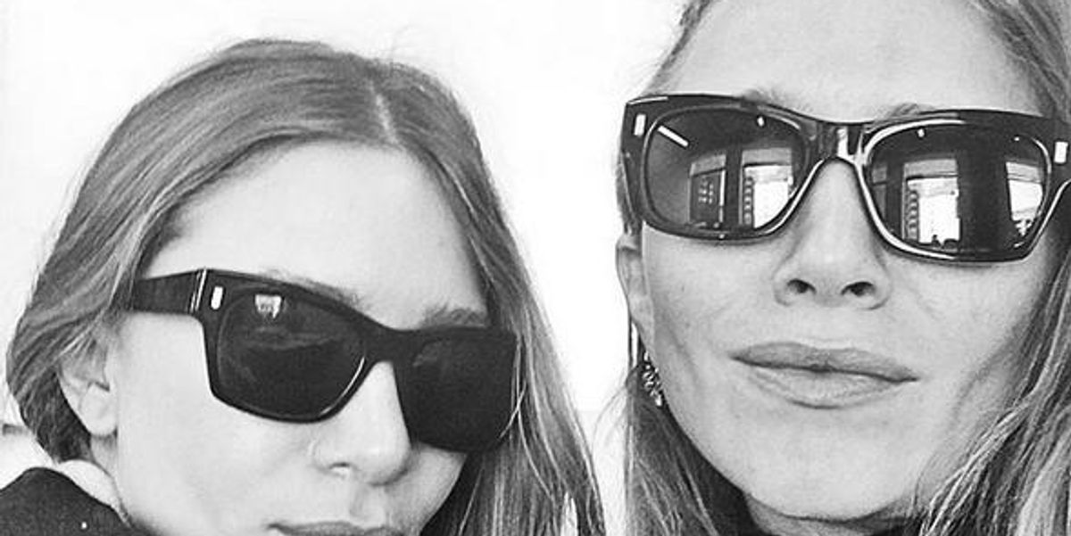 ICYMI: The Olsen Twins Posted Their First Ever Public Selfie