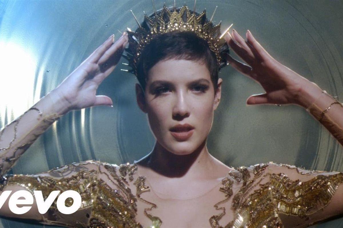"Watch Halsey Look Like a Queen in The Video For ""Castle (The Huntsman: Winter's War Version)"""