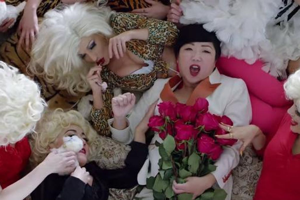 Margaret Cho Made a Tribute Video For Anna Nicole Smith