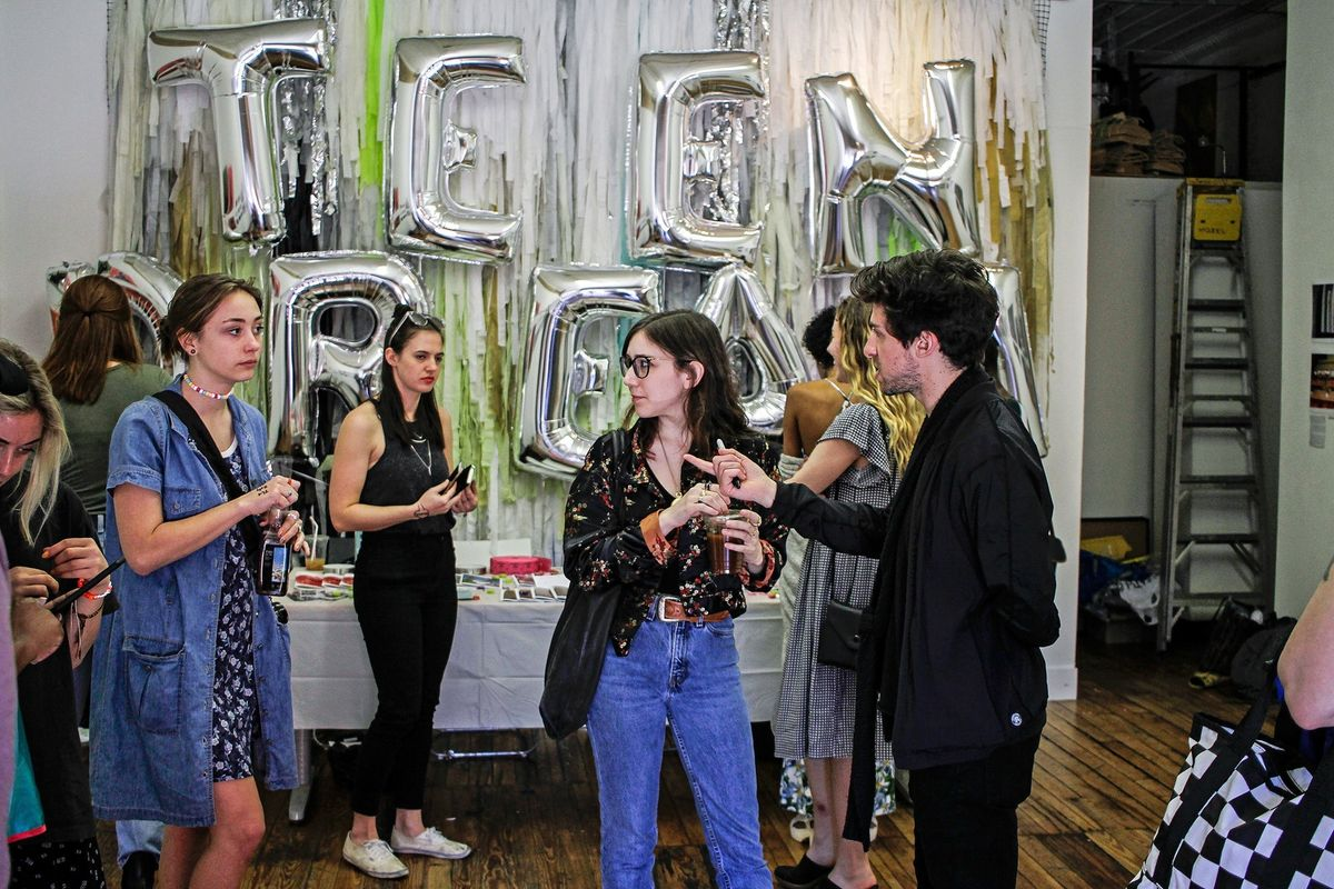 """Scenes From """"Teen Dream,"""" A New Exhibition Spotlighting Young Female Artists"""